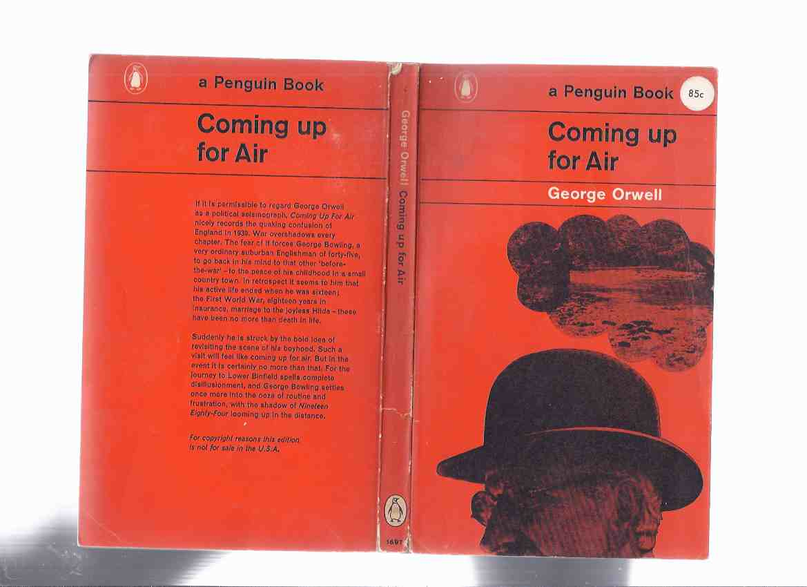 Image for Coming Up for Air -by George Orwell ( 1st Penguin Edition )