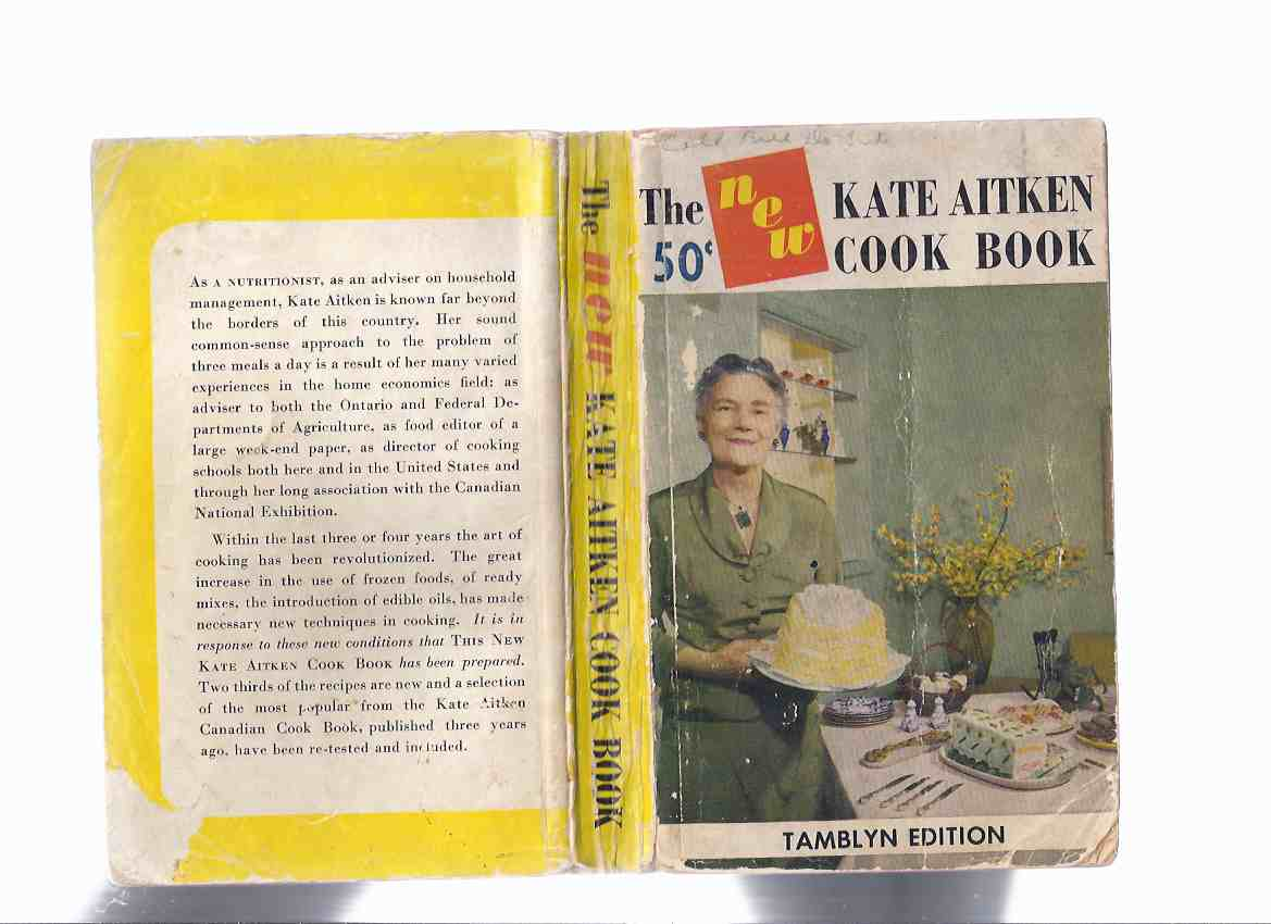 Image for The NEW Kate Aitken Cook Book  ( Recipes / Cookbook / Cooking )( Kate Aitken's ) )