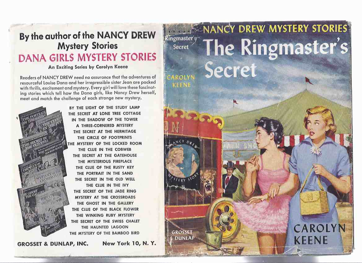 Image for The Ringmaster's Secret:  Nancy Drew Mystery Stories -by Carolyn Keene ( Book / Volume # 21 )