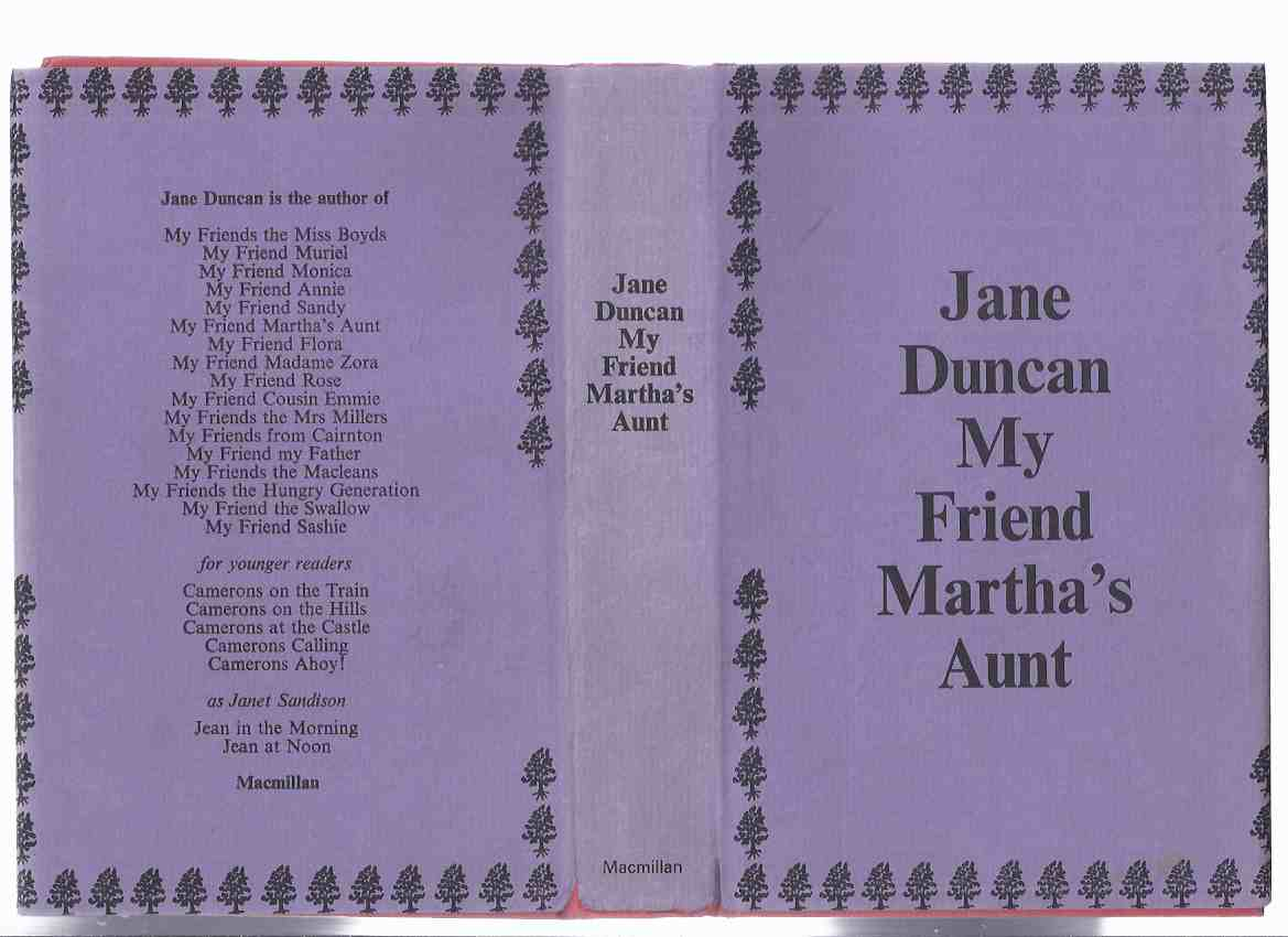 Image for My Friend Martha's Aunt ---a Reachfar Book ---by Jane Duncan