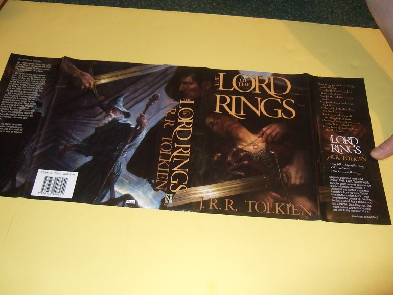 Image for The Lord of the Rings ---an Omnibus Volume Containing book 1, 2 and 3 of the trilogy ---The Fellowship of the Ring ---with The Two Towers ---with The Return of the King-by J R R Tolkien