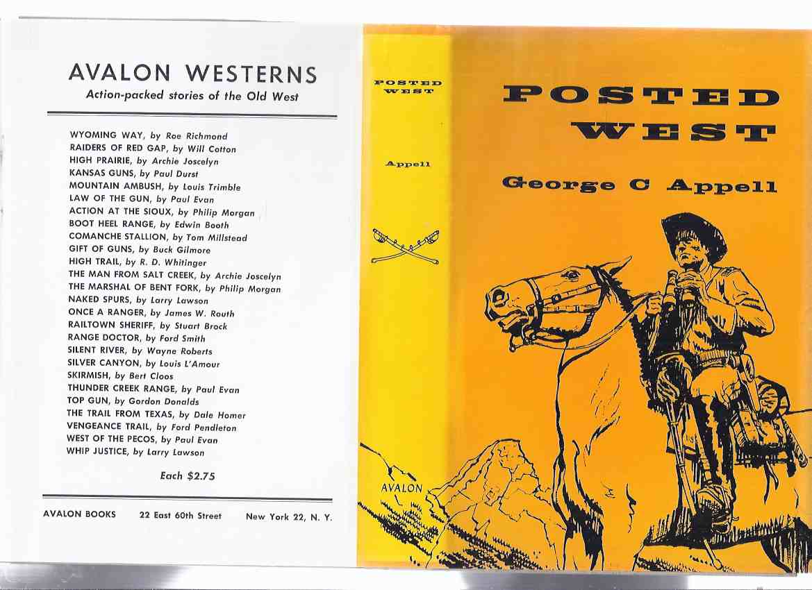 Image for Posted West -by George C Appell