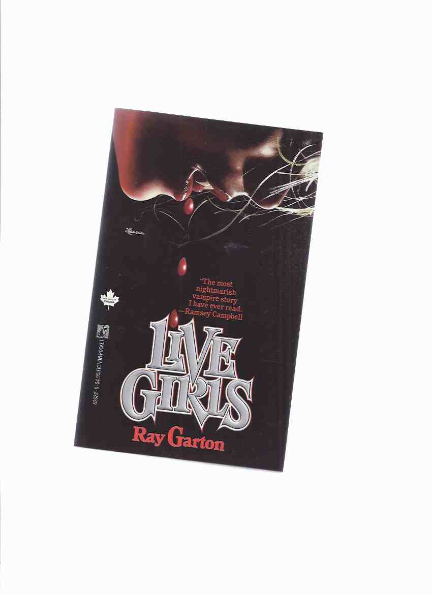 Image for Live Girls -by Ray Garton ( Vampire Novel -the 1st Davey Owen Book )