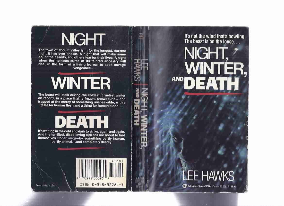 Image for Night, Winter and Death -by Lee Hawks ( a Werewolf Story )