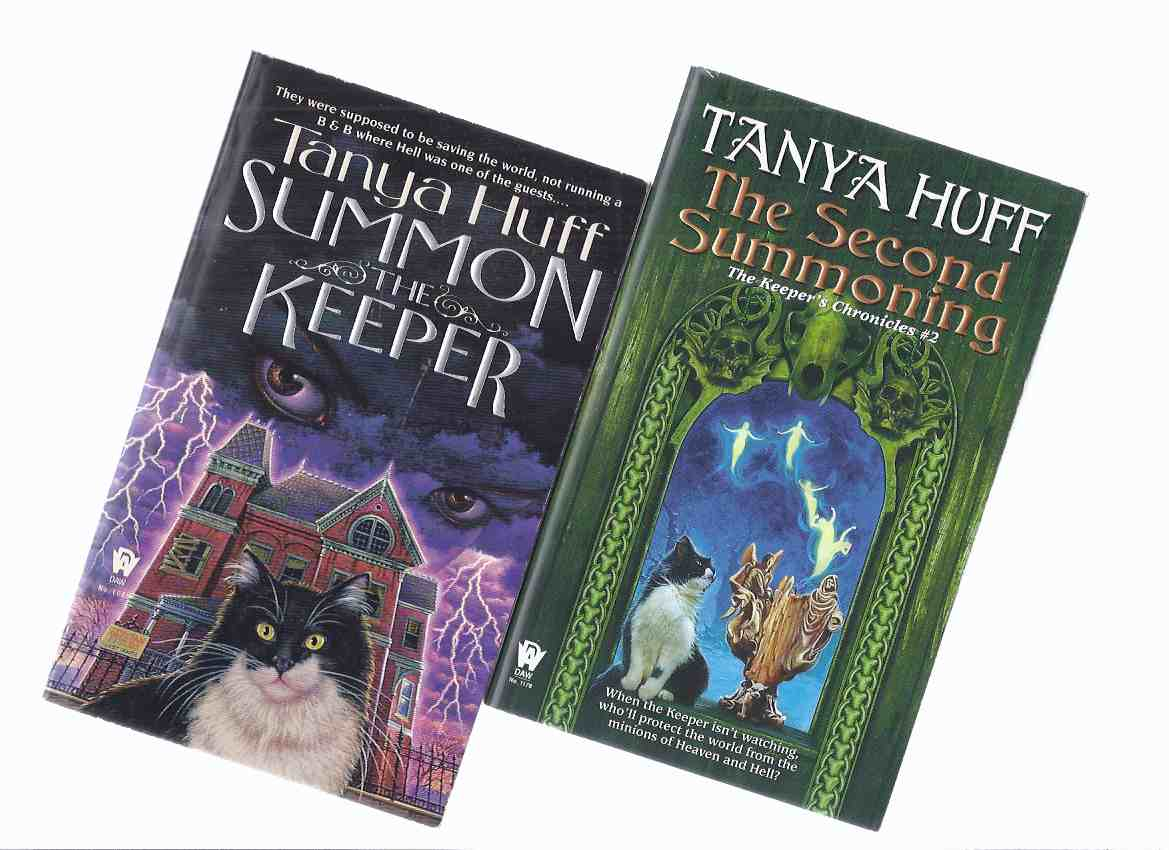 Image for TWO VOLUMES:  The Keeper's Chronicles:  Summon the Keeper; The Second Summoning -book 1 and 2 of the Trilogy -by Tanya Huff -both signed