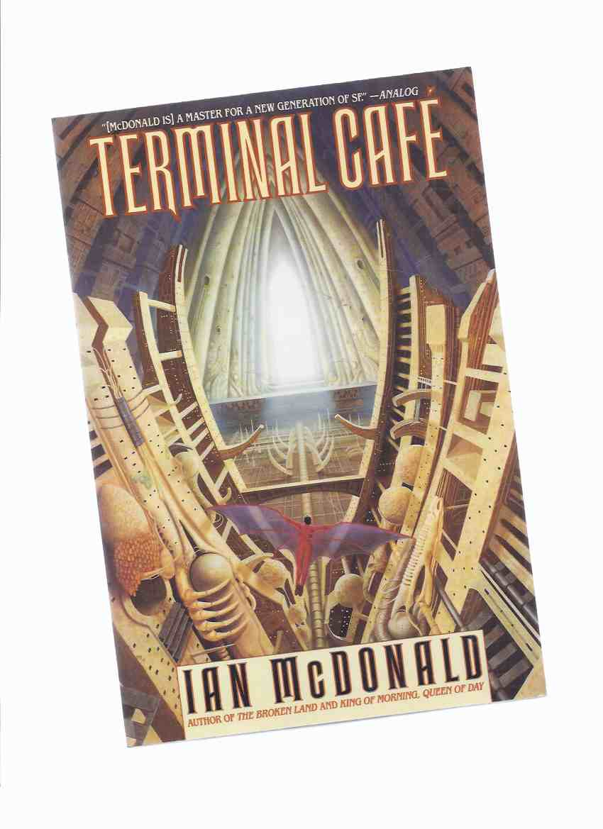 Image for Terminal Cafe -by Ian McDonald (signed and Inscribed)