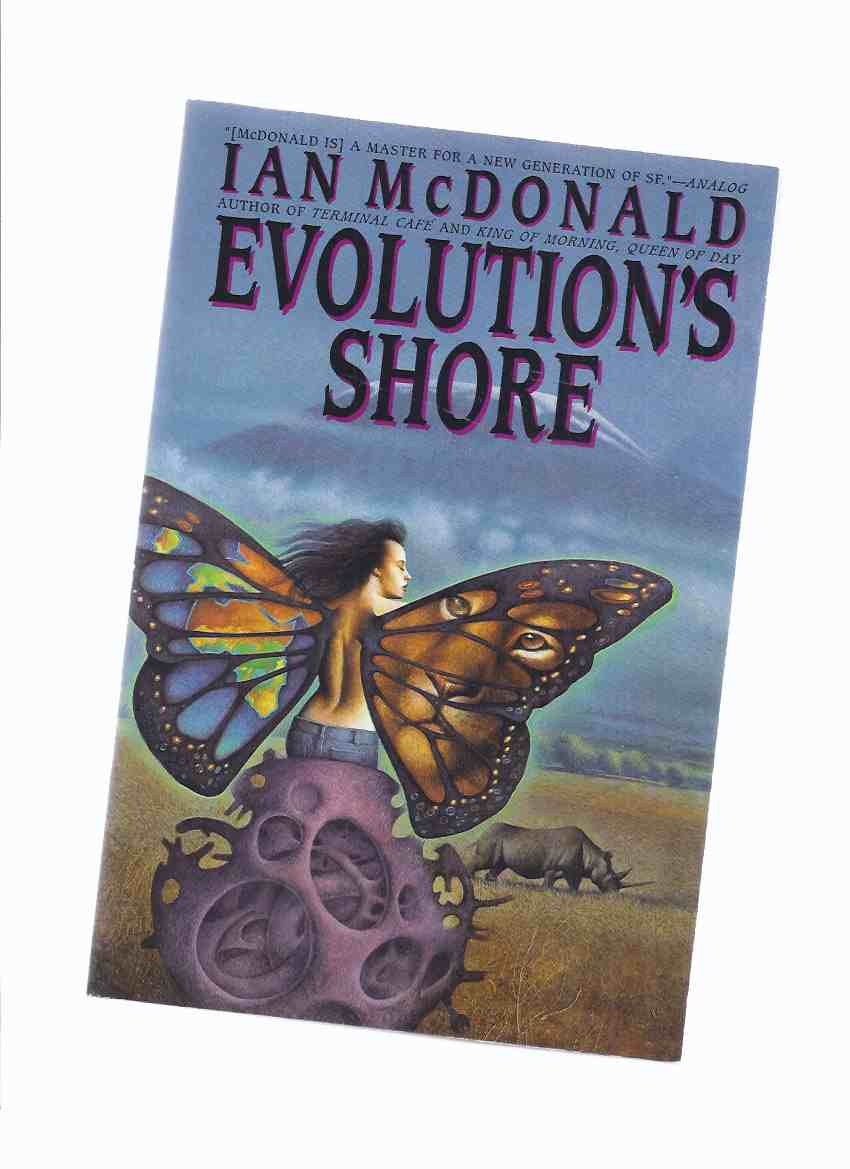 Image for Evolution's Shore -by Ian McDonald (signed and Inscribed)