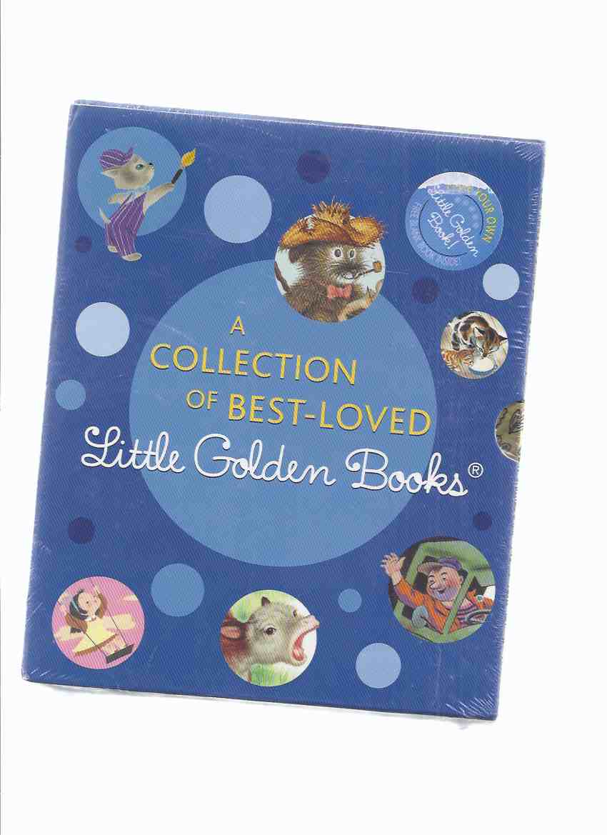 Image for SEVEN VOLUMES - Collection of Best-Loved Golden Books: Mister Dog; I Can Fly; Baby Farm Animals; The Jolly Barnyard; The Happy Man and His Dump Truck; The Color Kittens (Plus A Golden Blank Book ) ( unopened - STILL in SHRINKWRAP )
