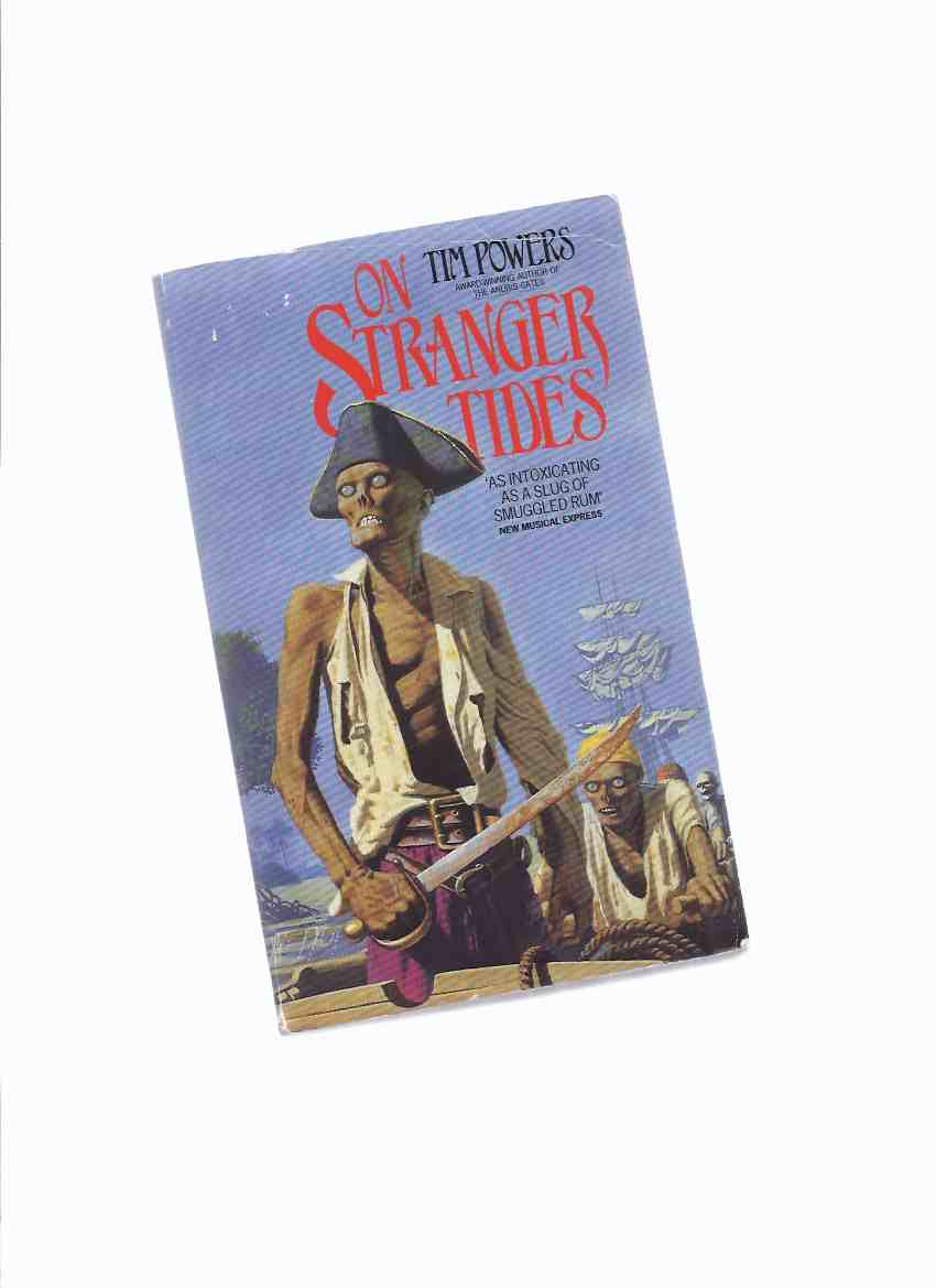 Image for On Stranger Tides ----by Tim Powers -a Signed Copy