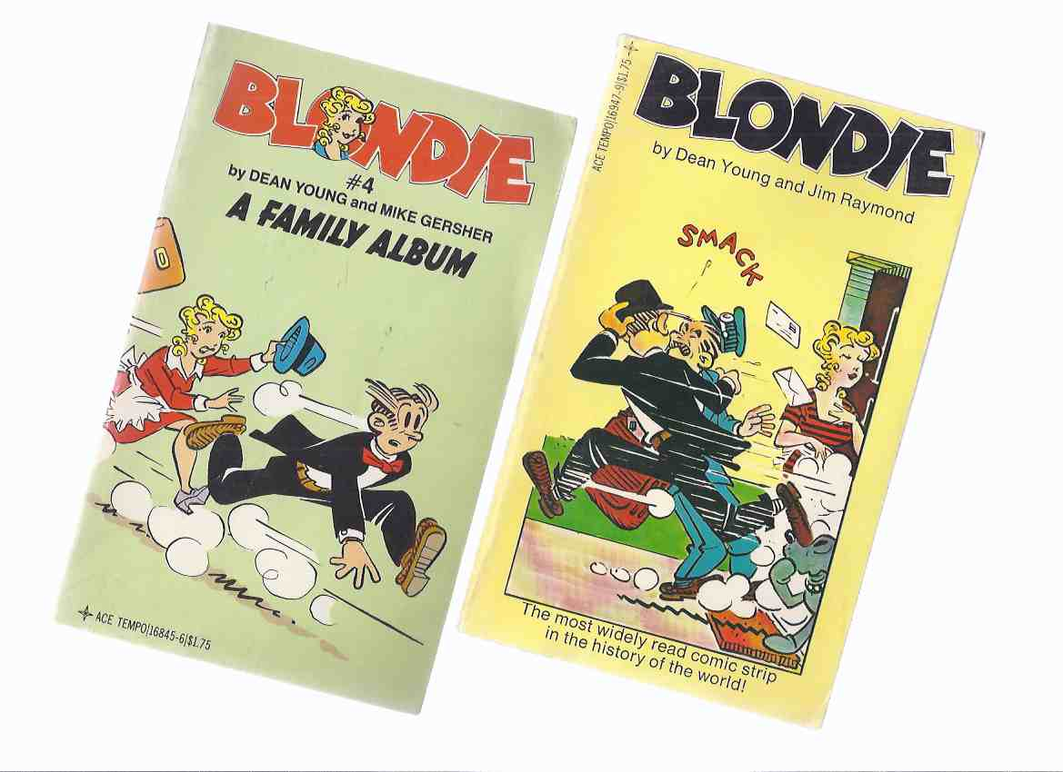 Image for Blondie ---with Blondie # 4 A Family Album -2 Volumes ( Books One [ 1 ] and Four )