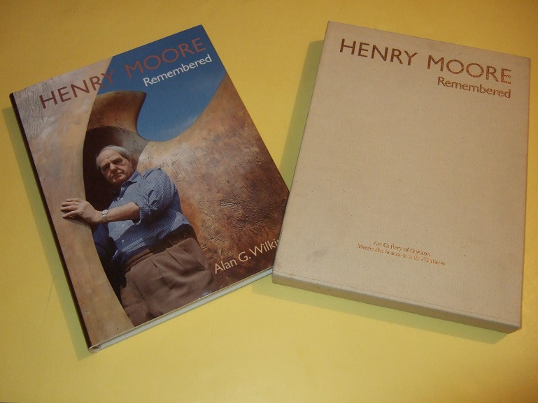 Image for Henry Moore Remembered: The Collection at the Art Gallery of Ontario in Toronto -by Alan G Wilkinson -a Signed Copy in Slipcase ( Sculptor / Sculpture, Drawings, Prints )( AGO )