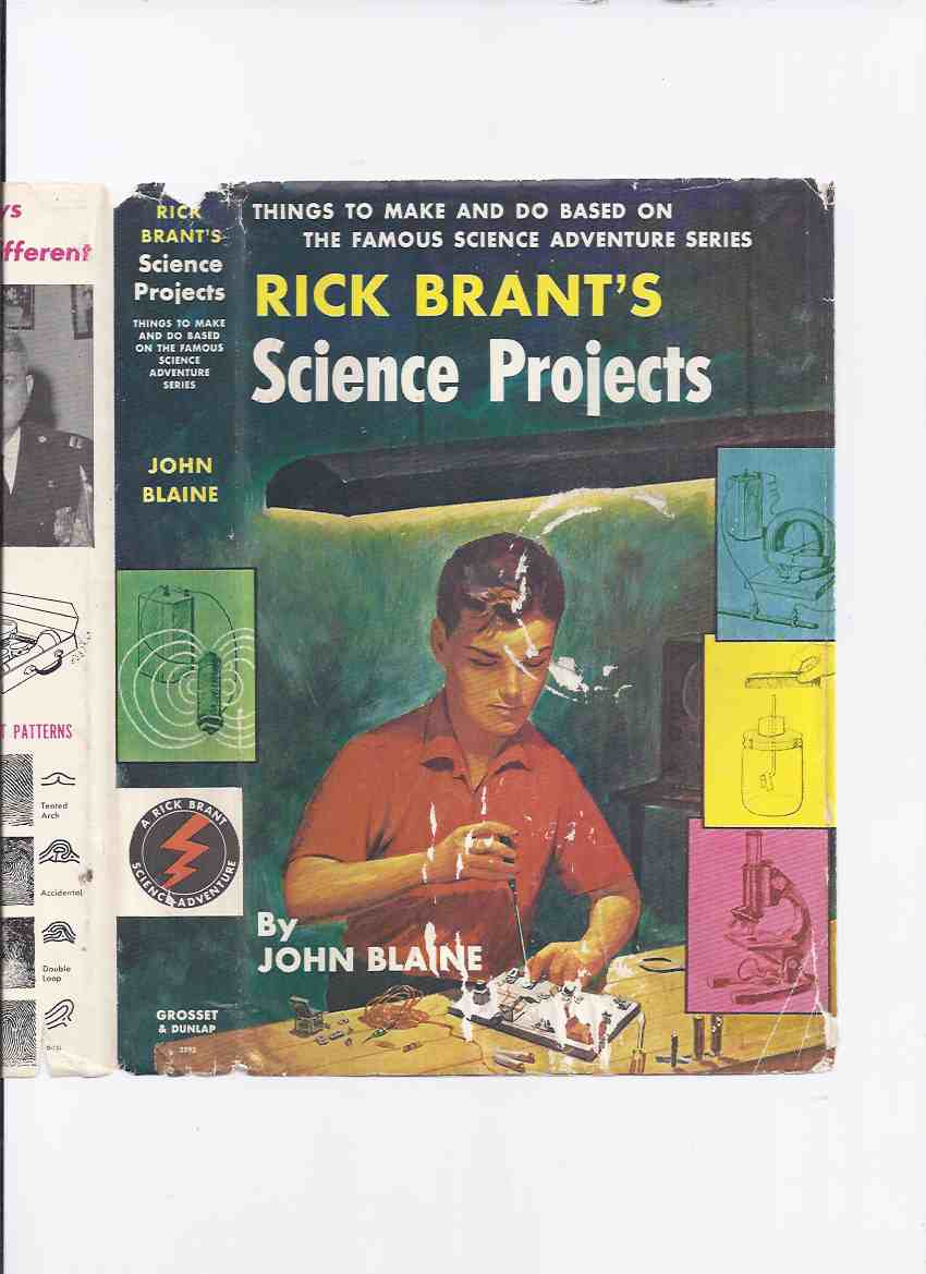Image for Rick Brant Science Adventure Series:  Rick Brant's Science Projects:  Things to Make and Do Based on the Famous Science Adventure Series