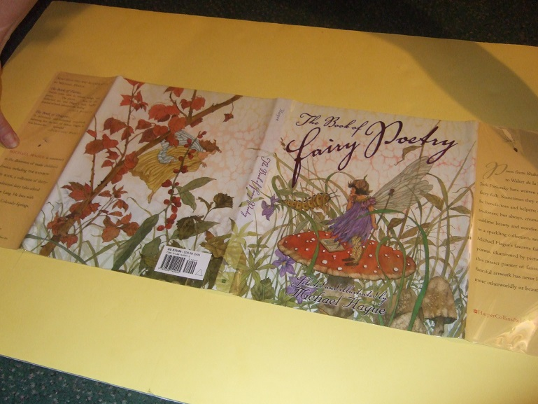 Image for The Book of Fairy Poetry, Illustrated / Illustrations By Michael Hague (inc. Elf Toper; Ariel's Song; Goblin Stairs; The Gnome; The Kelpie; The Leprechaun; The Nix; Puck's Blessing; Road to Fairyland; Sea Fairies; Toadstool Wood; etc)