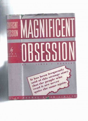 Image for Magnificent Obsession -by Lloyd C Douglas