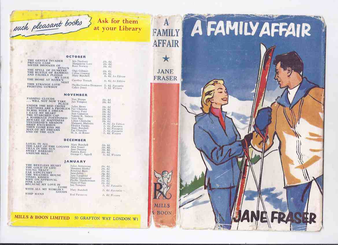 Image for A Family Affair ---by Jane Fraser -a Signed Copy ( Rosamunde Pilcher )