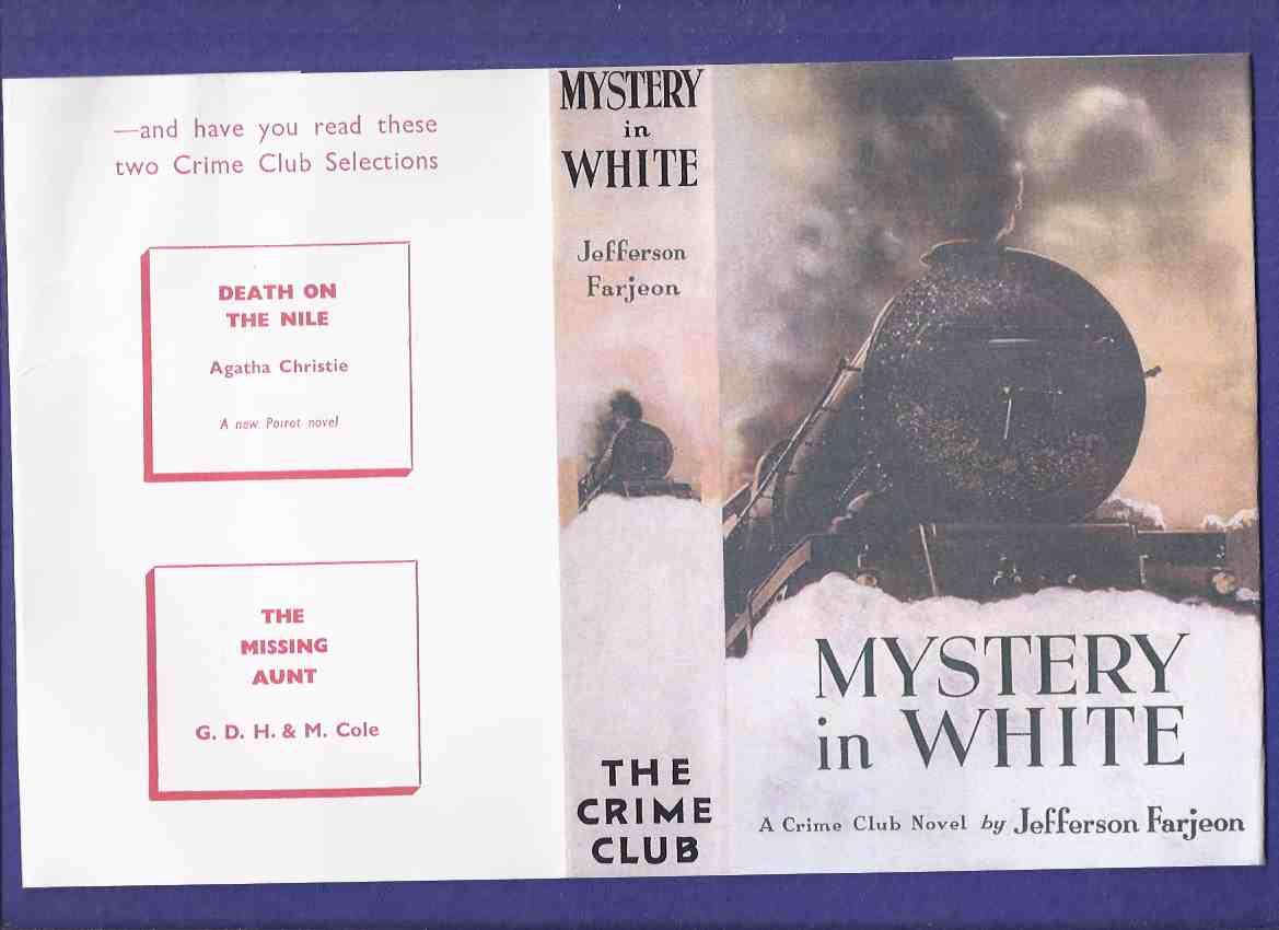 Image for Mystery in White:  A Crime Club Novel -by J Jefferson Farjeon