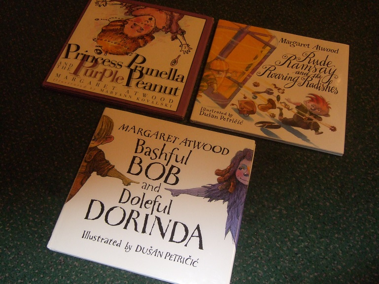 Image for 3 VOLUMES:  Princess Prunella and the Purple Peanut / Rude Ramsay and the Roaring Radishes / Bashful Bob and Doleful Dorinda -by Margaret Atwood , Illustrated By Dusan Petricic ( THREE BOOKS )