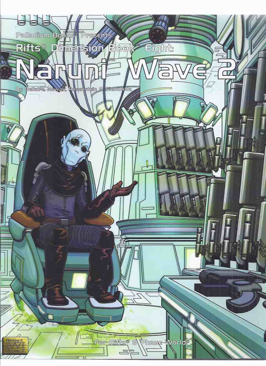 Image for ( World of Rift / Phase World ) Palladium Books Presents:  Naruni Wave 2, Book 8 ( Volume eight ) ( Fantasy RPG / Role-Playing Game  )( Sourcebook )( Two )