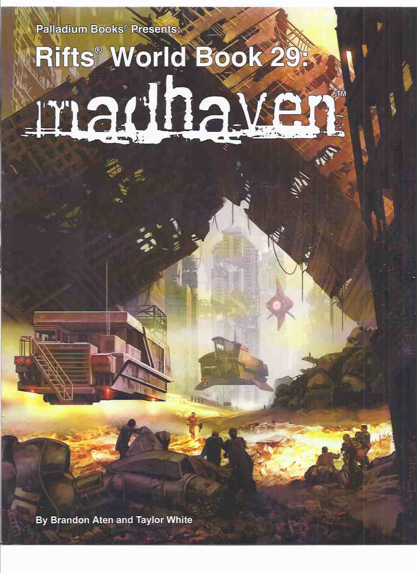 Image for ( Rift / Megaverse series ) Palladium Books Presents: Madhaven World, Book 29  ( Fantasy RPG / Role-Playing Game  ) (volume Twenty-Nine )