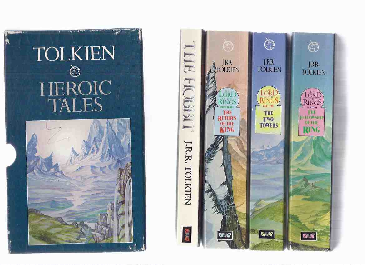 Image for HEROIC TALES -Slipcased Set: The Hobbit ---with The Fellowship of the Ring ---with The Two Towers ---with The Return of the King --- 4 Volumes in a slipcase ( Lord of the Rings trilogy -book 1, 2, 3 and The Hobbit )( Canadian Edition )
