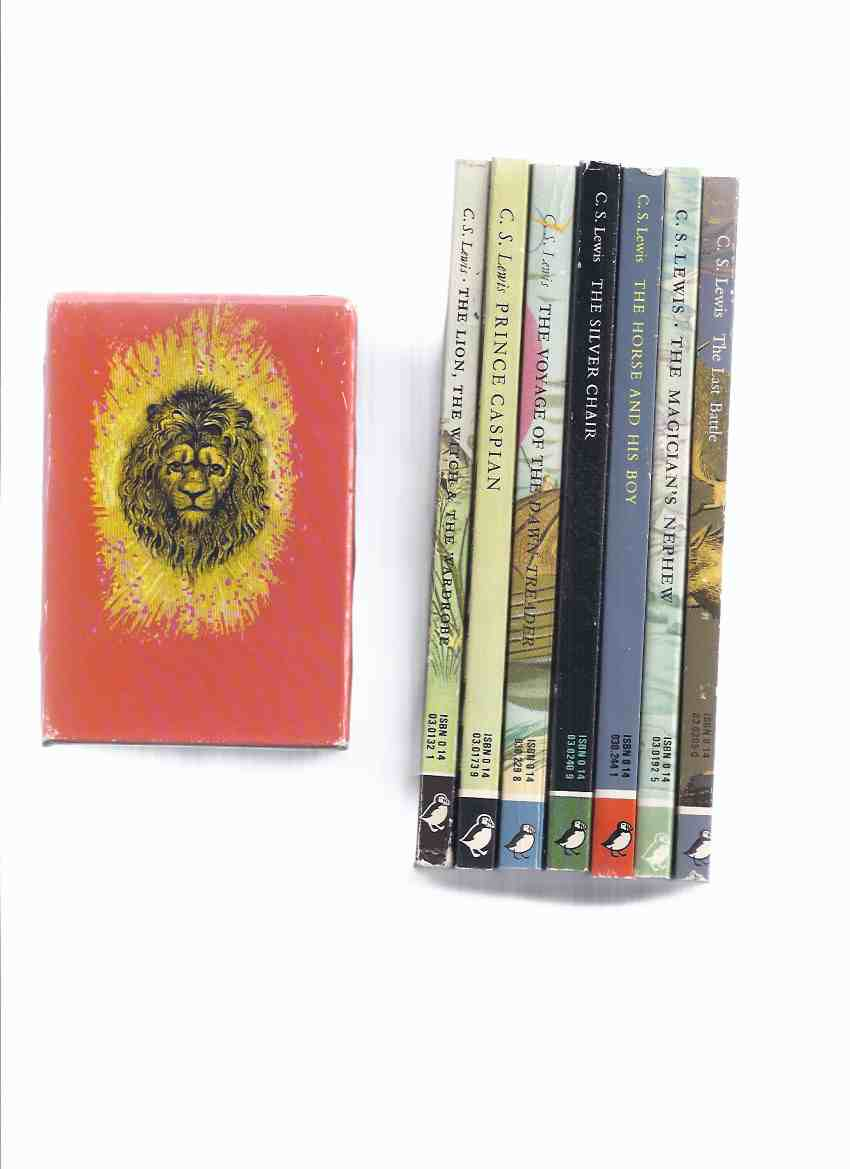 Image for 7 Volumes in Slipcase / Box: C S LEWIS - Narnia Chronicles: Lion, The Witch and the Wardrobe -with Prince Caspian -with Voyage of the Dawn Treader -with Silver Chair -with The Horse & His Boy -with Magician's Nephew & Last Battle ( Slipcased / Boxed Set )