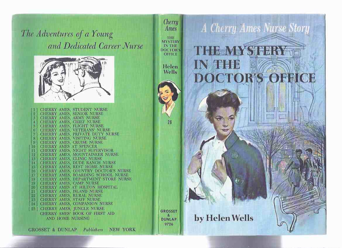 Image for Cherry Ames:  The Mystery in the Doctor's Office ( Nurse ) --- Book # 26 -by Helen Wells ( Volume Twenty-Six ) ( Dr. )