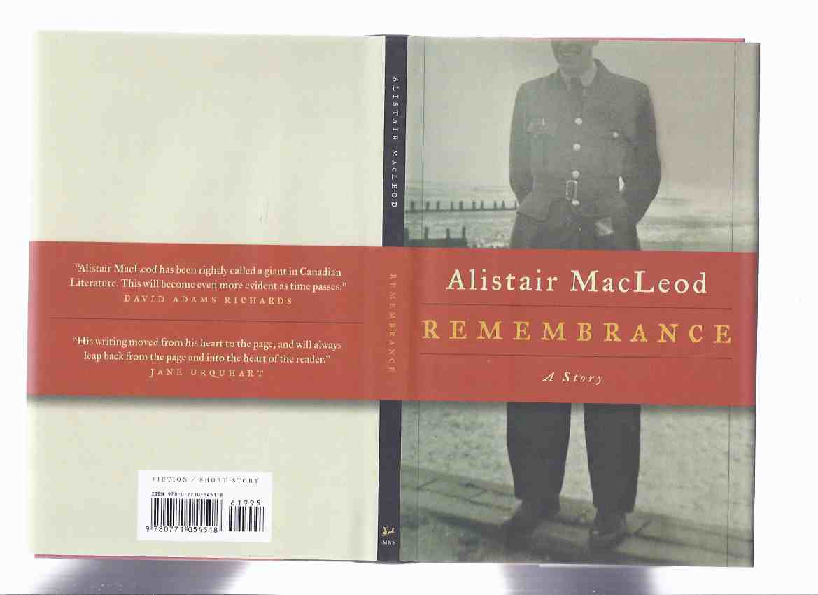 Image for Remembrance: A Story  ---by Alistair MacLeod