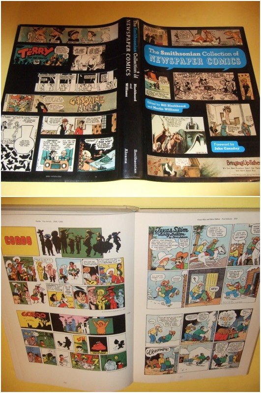 Image for The Smithsonian Collection of Newspaper Comics  ( cover Cartoons Include:  Mickey Mouse; Bringing Up Father; Prince Valiant; Krazy Kat; Little Nemo in Slumberland; Mutt and Jeff; Doonesbury; Terry and the Pirates; Gasoline Alley; Blondie, etc)