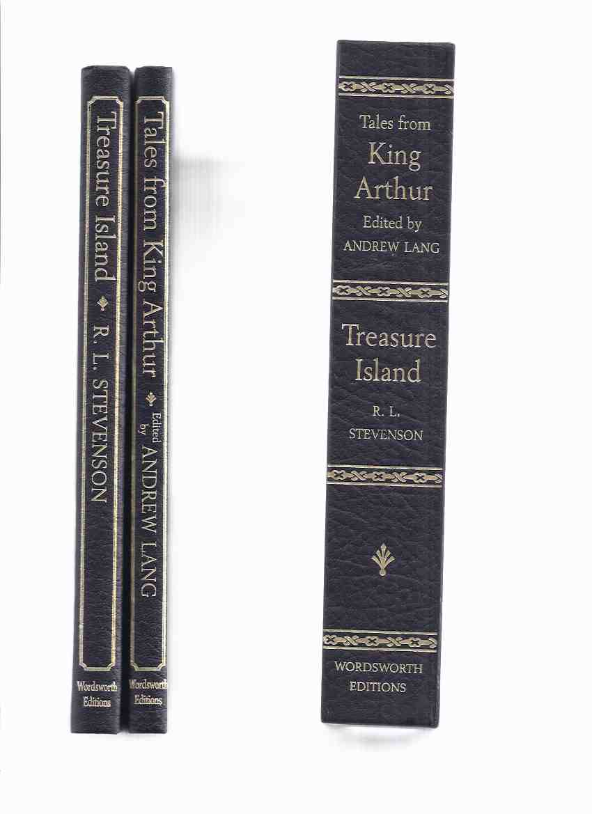 Image for 2 Volumes in a Slipcase:  Tales from King Arthur ( Knights of the Round Table )/and/ Treasure Island -by Andrew Lang /and / R L Stevenson -Illustrations / Illustrated By Eleanor Fortescue-Brickdale ( E F ) and Walter Crane /and/ Monro S Orr