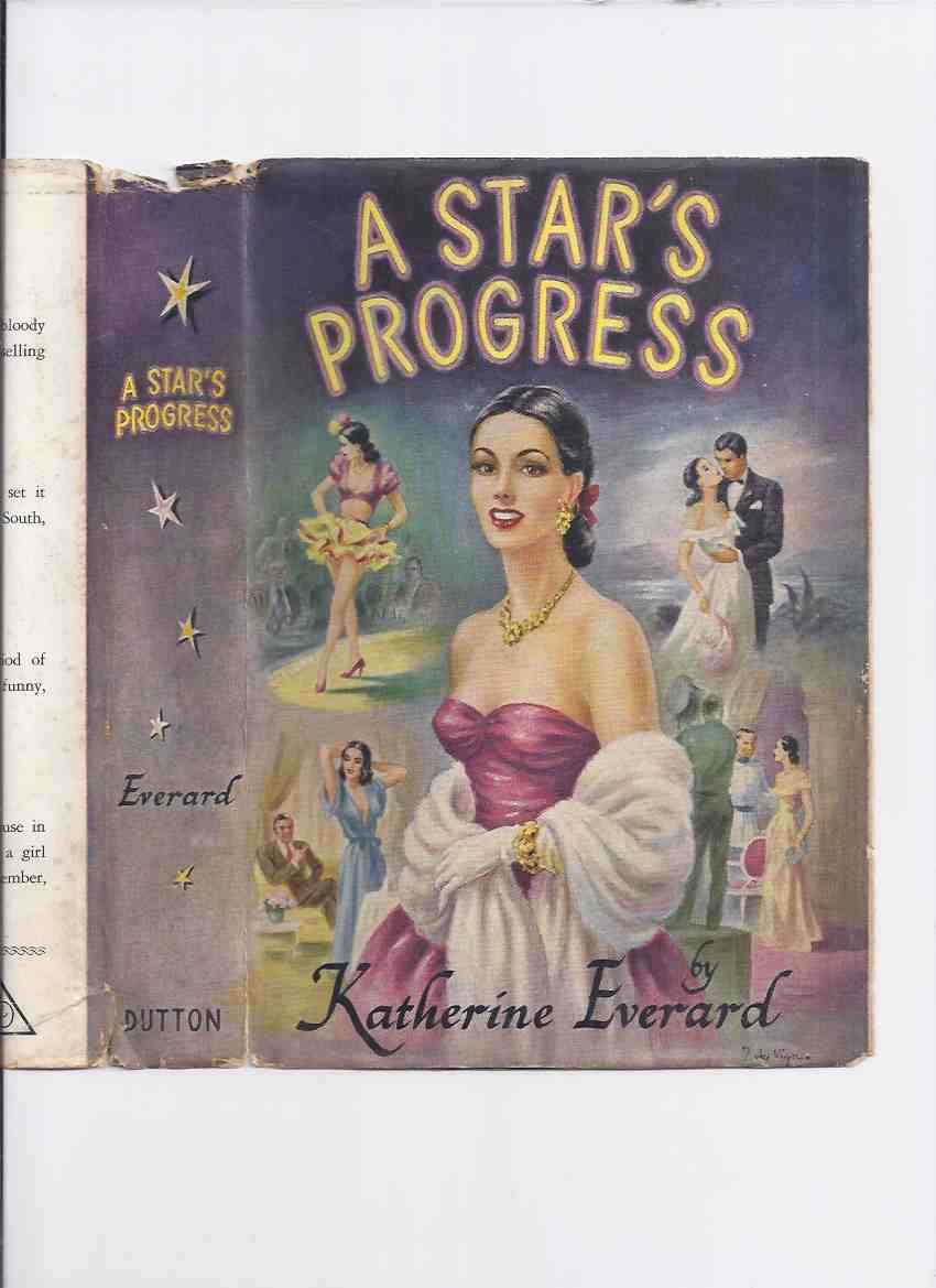Image for A Star's Progress -by Katherine Everard / Gore Vidal (AKA:  Cry Shame )