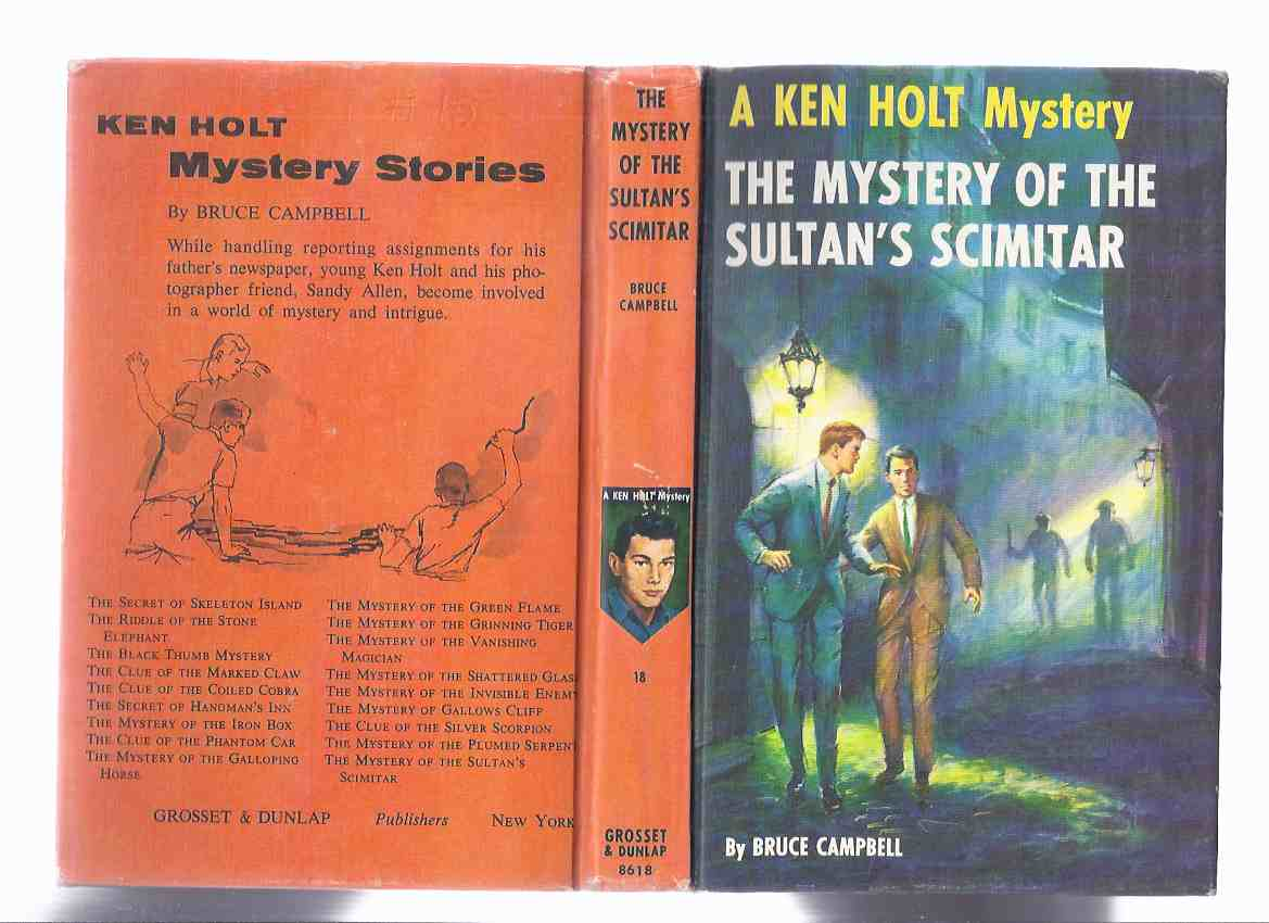 Image for The Mystery of the Sultan's Scimitar:  A Ken Holt Mystery, Book # 18 ( Volume Eighteen / 18 / Eighteenth )