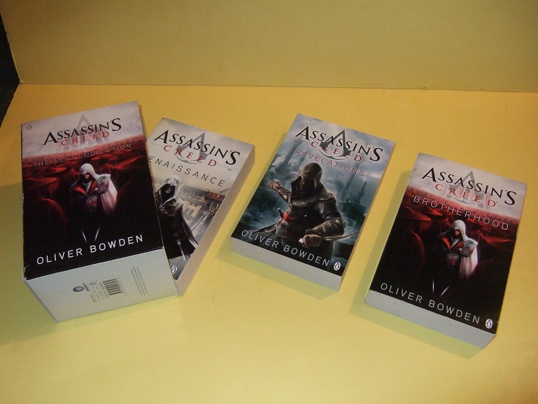 Image for 3 VOLUMES in a SLIPCASE: BOX: Assassin's Creed, The EZIO COLLECTION Book 1, 2, 3 ( Renaissance / Brotherhood / Revelations )( Slipcased / Boxed Trilogy )( Assassins )
