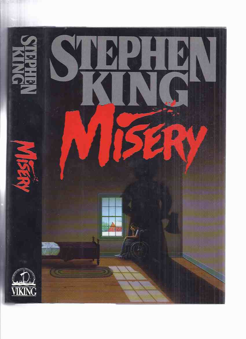 Image for Misery - by Stephen King ( Basis for the Kathy Bates / James Caan Movie )( Canadian 1st Edition -read about variant points in description below )