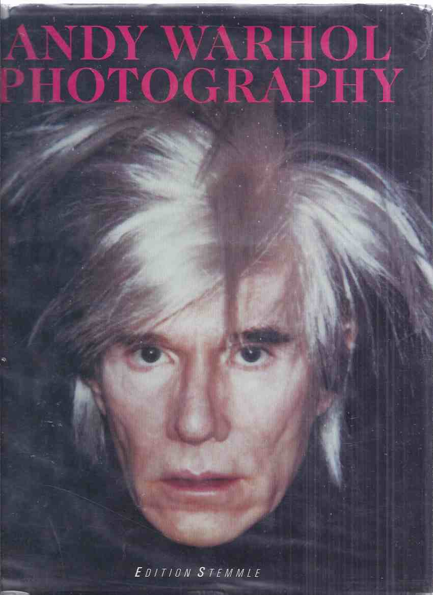 Image for Andy Warhol Photographs ( English language Edition)(photographers Otto Fenn; Robert Mapplethorpe; Cecil Beaton; Edward Wallowitch; Duane Michals; Richard Avedon; Oliviero Toscani; etc)( Exhibition Catalogue ) ( The Factory related / Photography )