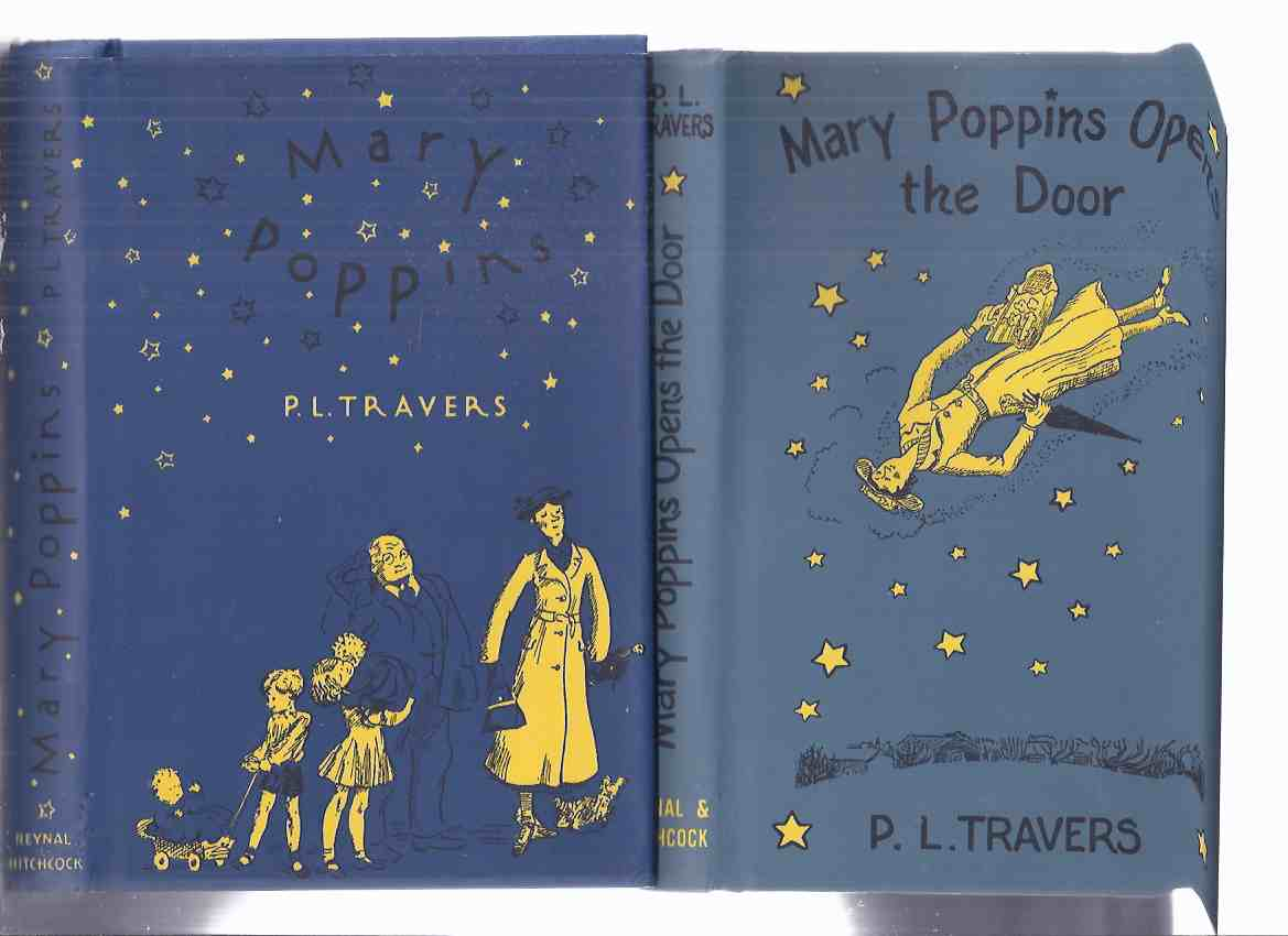 Image for Mary Poppins ---with Mary Poppins Opens the Door  -2 Books in the Series ---Two Volumes