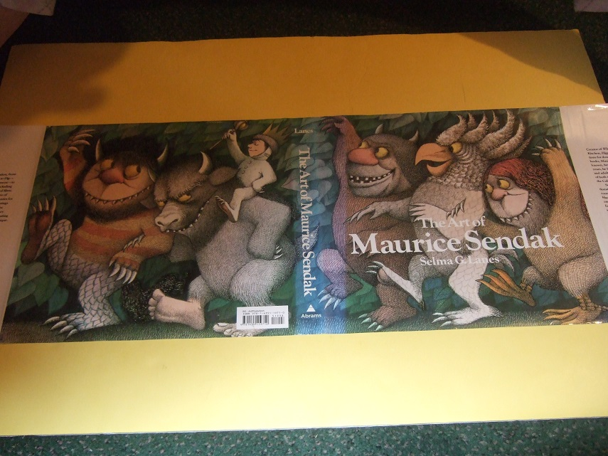 The Art of Maurice Sendak / Abrams ( inc Illustrations from:  Where the Wild Things are; In the Night Kitchen; Jennie The Love of My Life; Work of the Sixties, Grimm Purpose; and a Chronology, etc)