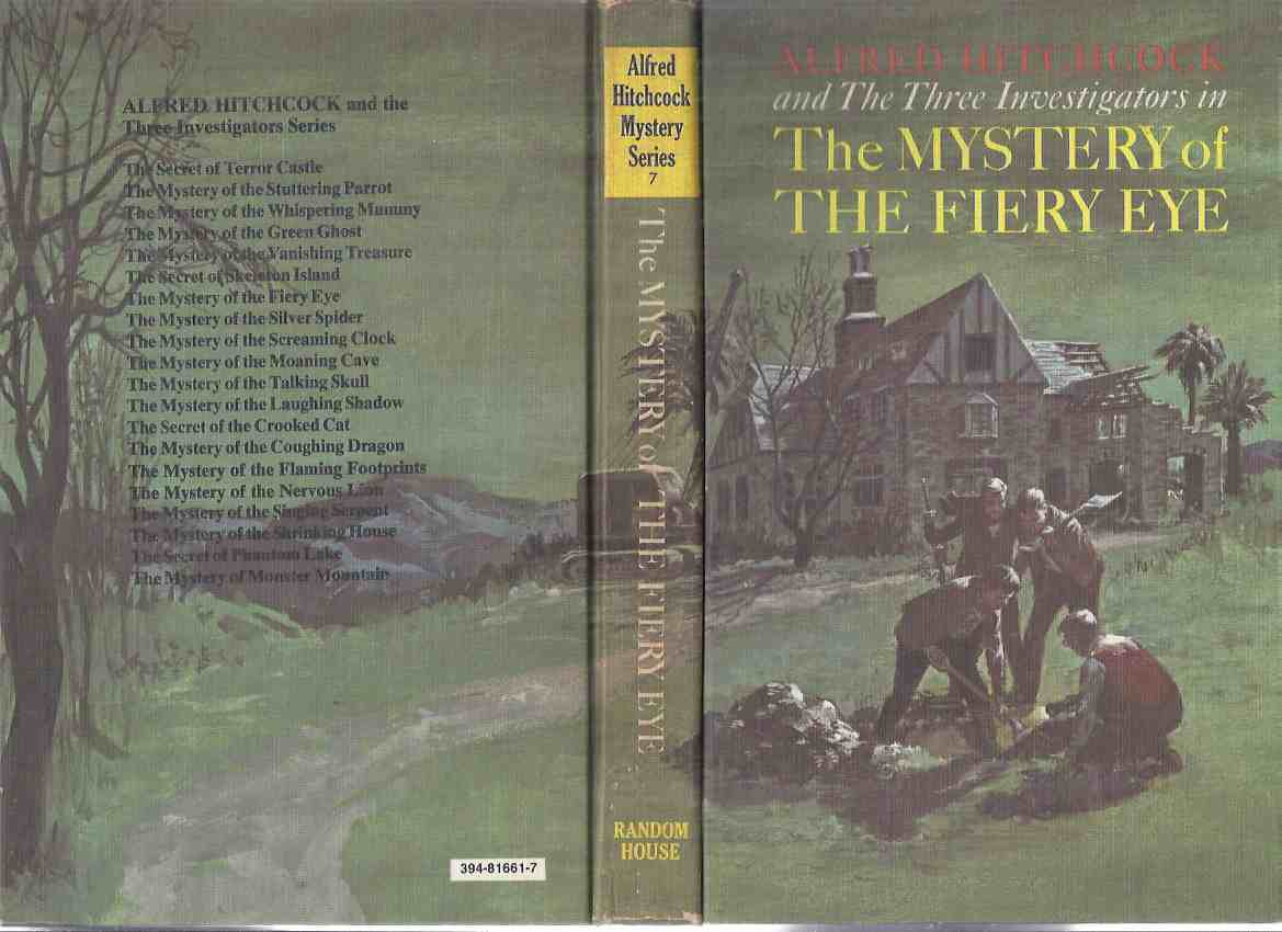 Image for Alfred Hitchcock / Three Investigators Mystery: The Mystery of the Fiery Eye  ---book 7  (The 3 Investigators )( Volume Seven / vii )