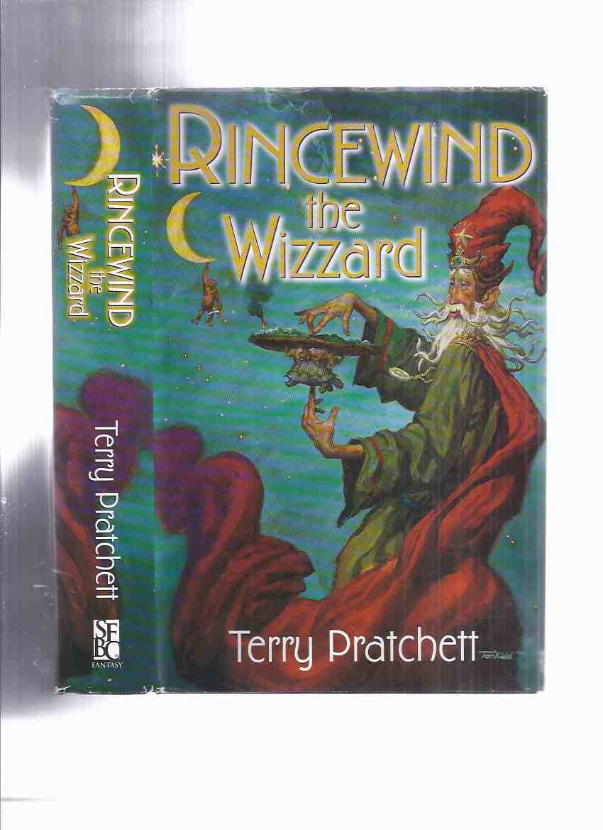Image for Rincewind the Wizzard ( Wizard ) Comprising the Colour of Magic ( Color ); The Light Fantastic; Sourcery ( Sorcery ); Eric ( Faust ) -by Terry Pratchett ( an Omnibus Volume Collecting Four Books )