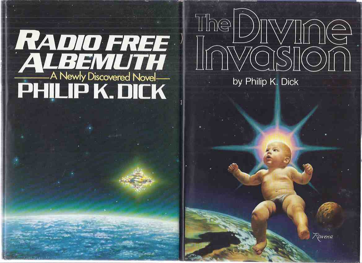 Image for TWO VOLUMES:  The Divine Invasion ---and Radio Free Albemuth ---by Philip K Dick