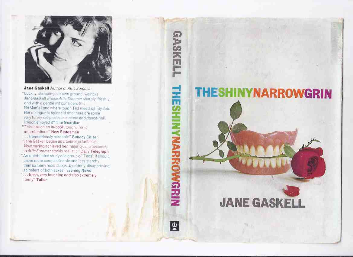 Image for The Shiny Narrow Grin -by Jane Gaskell  ( a Vampire Story )