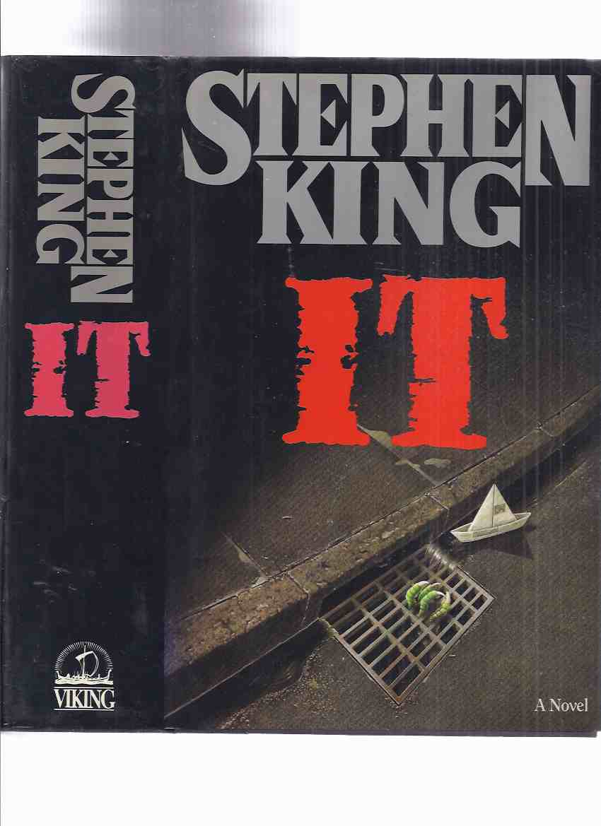 Image for IT by Stephen King ( Pennywise the Clown and Derry, Maine )( Canadian 1st Edition -read about variant points in description below )