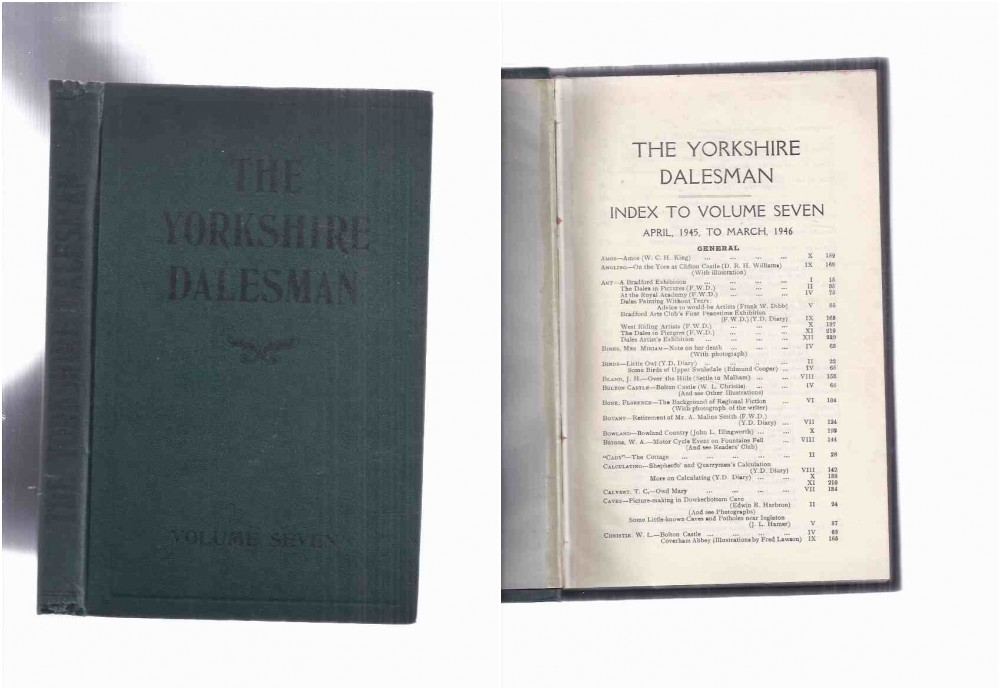 Image for The Yorkshire Dalesman A Monthly Magazine of Dales' Life and Industry volume number 7, Issues # I to # 12, (inc. Bolton Castle; Angling; Electricity on Farms; Footpaths; Motorcycling; Some Little Known Caves & Potholes; Tan Hill;  etc )