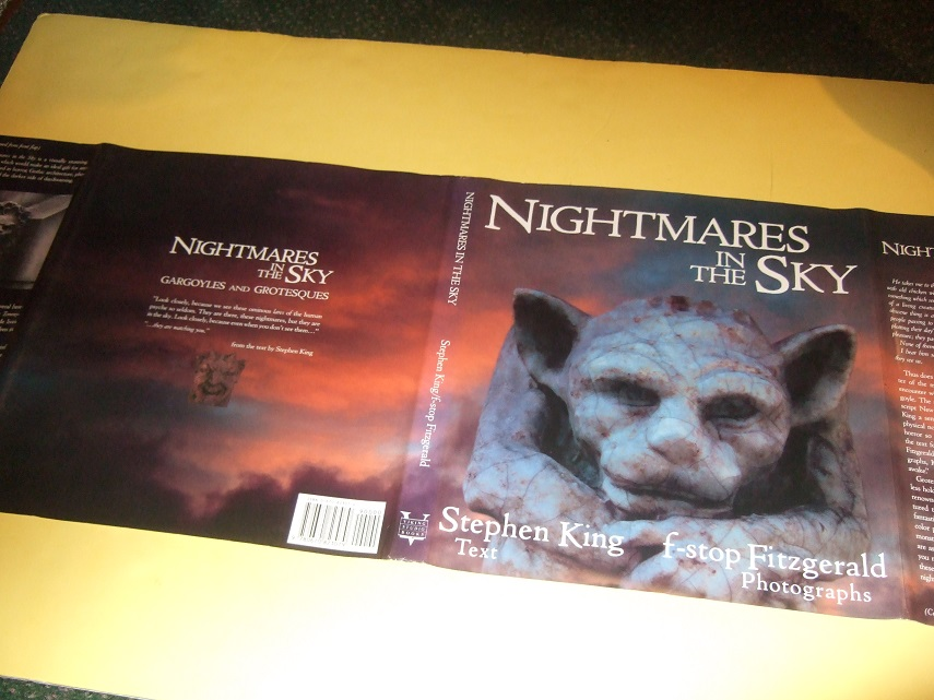 Image for Nightmares in the Sky:  Gargoyles and Grotesques  -by Stephen King --photographs By f-stop Fitzgerald