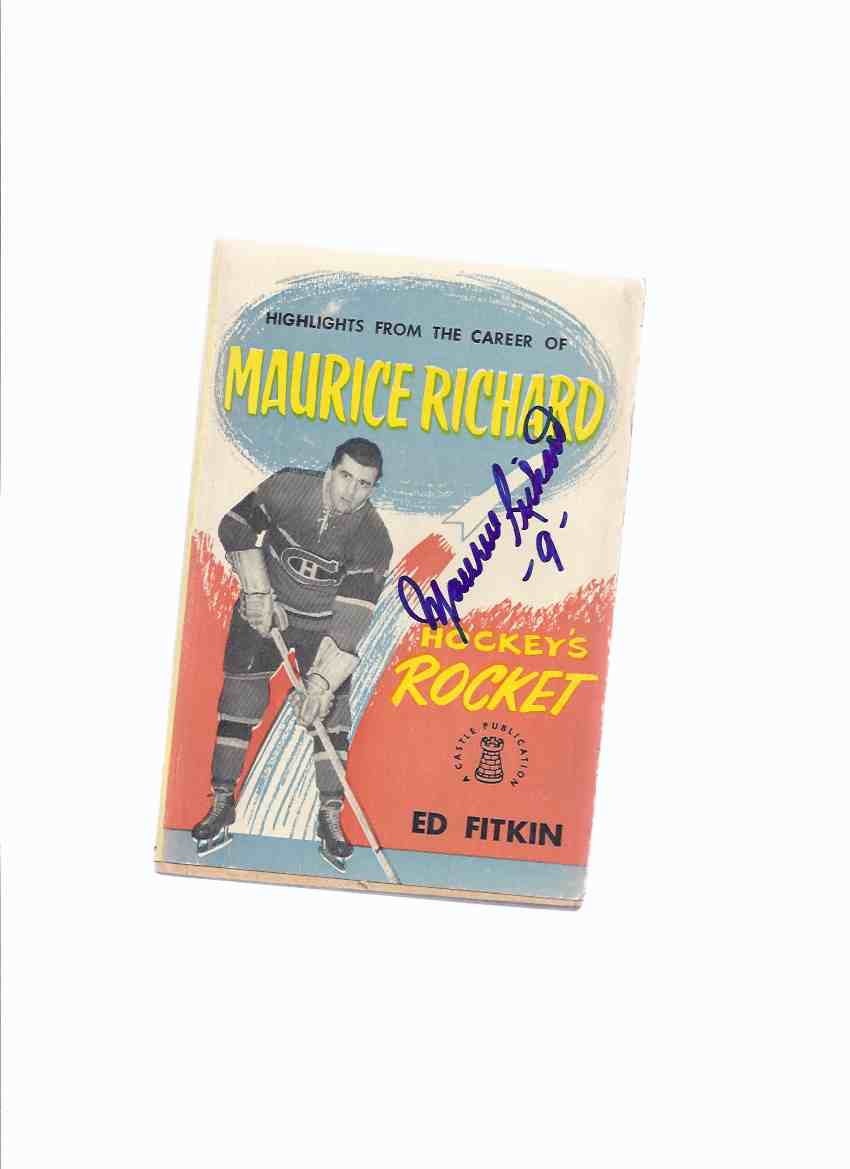 Image for Highlights from the Career of Maurice Richard - Hockey's Rocket - Signed By Maurice Richard ( Montreal Canadiens / The Habs  / NHL / National Hockey League related)