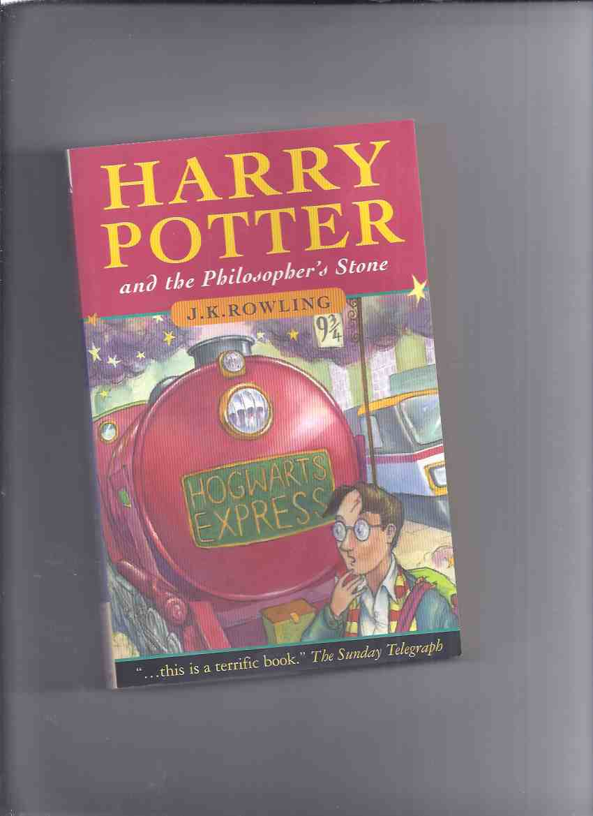 Image for Harry Potter and the Philosopher's Stone, Book 1 of the Series ---by J K Rowling  ( Volume One )( UK Price Edition Printed in Canada )