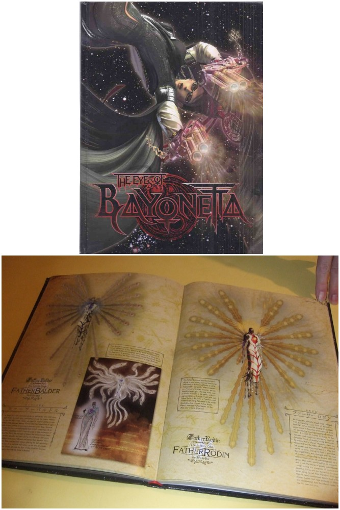 Image for The Eyes of Bayonetta (includes The Eyes of Bayonetta WITCHCRAFT DVD -as issued ) ( Inc. Characters; Angels; Infernal Demons; Weapons; Accessories; Items; Concept Art; Other -Special Illustrations, Staff Comments )( SEGA Games / Gaming )