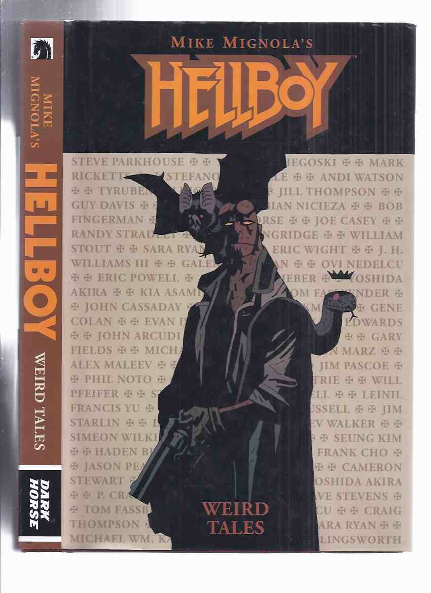 "Image for Mike Mignola's Hellboy, Weird Tales (collects Hellboy: Weird Tales #1-8 (Volume 1 & 2) and the ""How Koshchei Became Deathless"" and ""Baba Yaga's Feast"" back-ups from Hellboy: The Wild Hunt #2-4, December 2014 )"