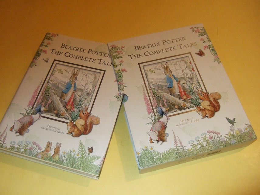 Beatrix Potter Complete Tales:Tale Peter Rabbit; Squirrel Nutkin; Tailor Gloucester; Two Bad Mice; Mrs Tiggy-Winkle; Mr Jeremy Fisher; Tom Kitten; Jemima Puddle-duck; Flopsy Bunnies; Tittlemouse; Tod; Pigling Bland; Samuel Whiskers; Pie Patty-Pan; etc