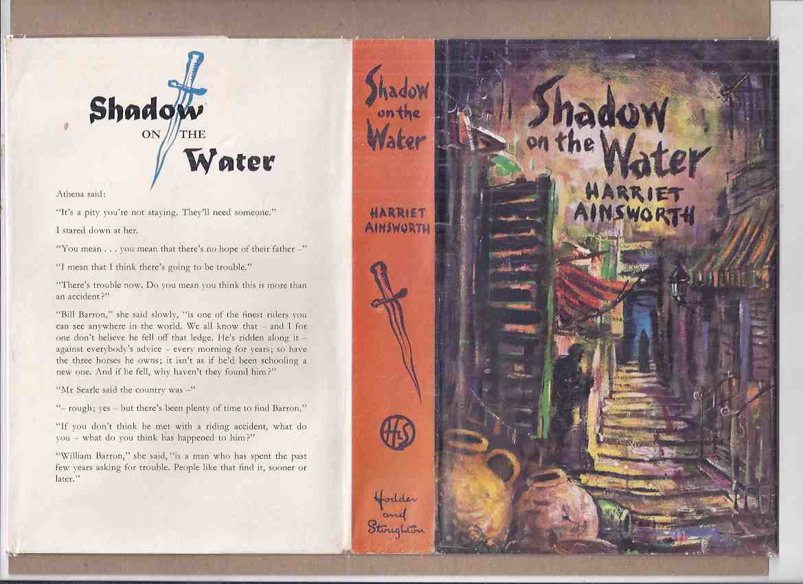 Image for Shadow on the Water -by Harriet Ainsworth ( Elizabeth Cadell (