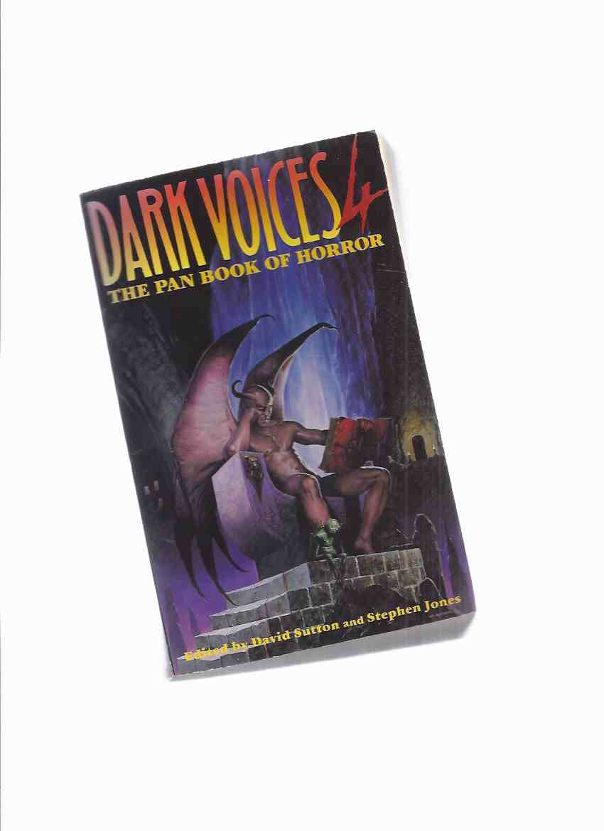 Image for The PAN Book of Horror: Dark Voices 4 ( Four ) (IV)( Includes:  A Time for Waiting; Propellor; On Edge; Abscence of Beast; The Little Green Ones; Razor White, etc)